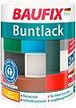 Baufix Acryl-Buntlack, 1 Liter, gelb, Bild 1