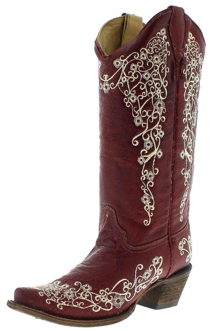 Corral Boots »A3298 Red Damen Westernstiefel Rot« Cowboystiefel