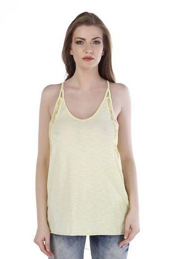 Cipo & Baxx T-Shirt »Stella« im Slim Fit-Schnitt