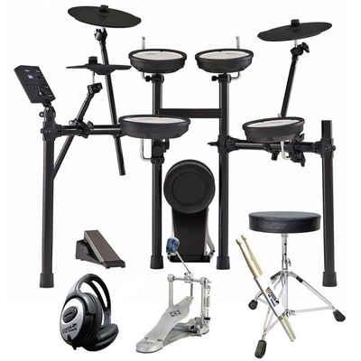 Roland Audio Elektrisches Schlagzeug »Roland TD-07KV E-Drum Schlagzeug Set Bundle«