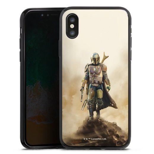 DeinDesign Handyhülle »The Mandalorian Rock« Apple iPhone X, Hülle The Mandalorian Star Wars Offizielles Lizenzprodukt