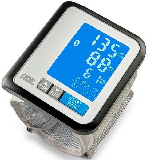 ADE Handgelenk-Blutdruckmessgerät BPM 1600 FITvigo, automatische Messung, mit App