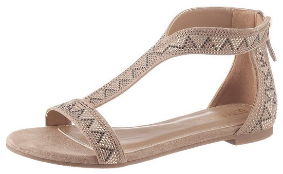 Betty Barclay Shoes Sandale mit schöner Metallic-Deko