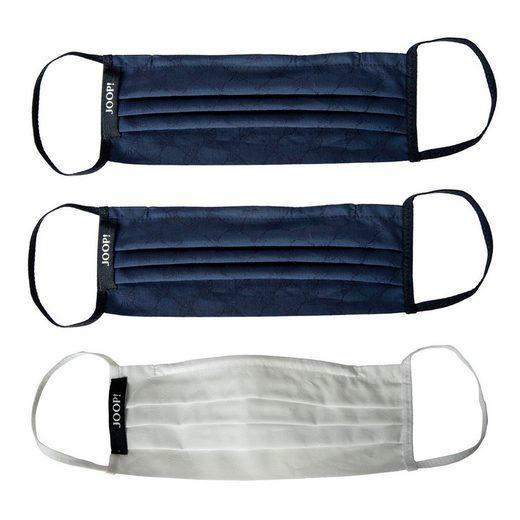 Joop! Modetuch »Unisex Gesichtsmaske 3er Pack - Alltagsmaske,«