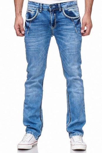 Rusty Neal Jeans im Regular Fit - Schnitt
