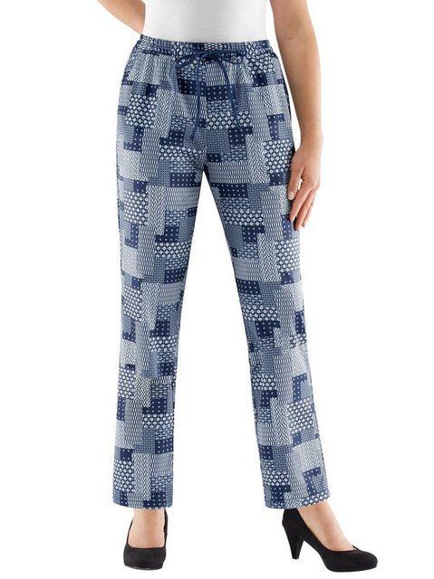 Hosen - Classic Basics Jerseyhose › blau  - Onlineshop OTTO