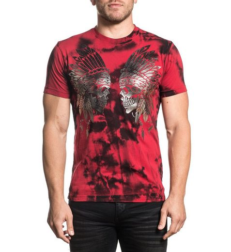 XTREME COUTURE T-Shirt mit Metallic-Elementen