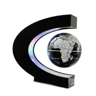 autolock Globus »Schwimmende Magnetschwebekugel LED Weltkarte Elektronische Anti-Schwerkraft-Lampe Neuheit Ball Licht Dekoration Geburtstagsgeschenke«
