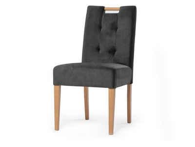Moebel-Eins Polsterstuhl, Komfortables Sitzen durch extra breite Sitzfläche