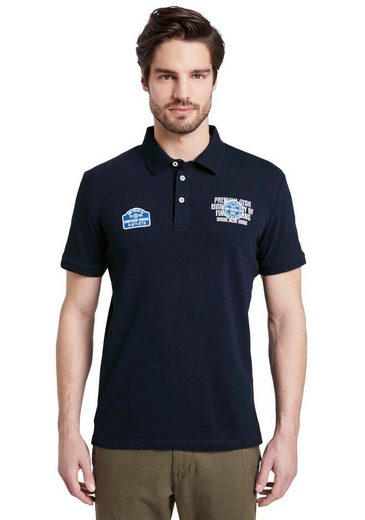 TOM TAILOR Poloshirt mit Front-Badges