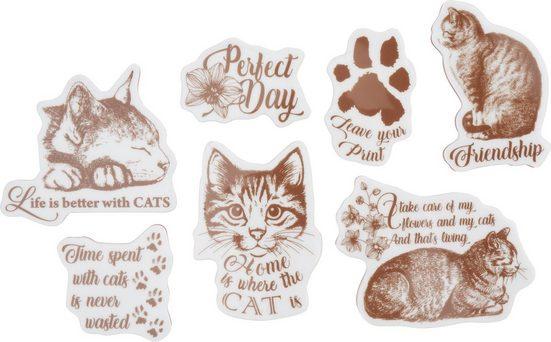 Stamperia Stempel »Katzen«, 7 Stück
