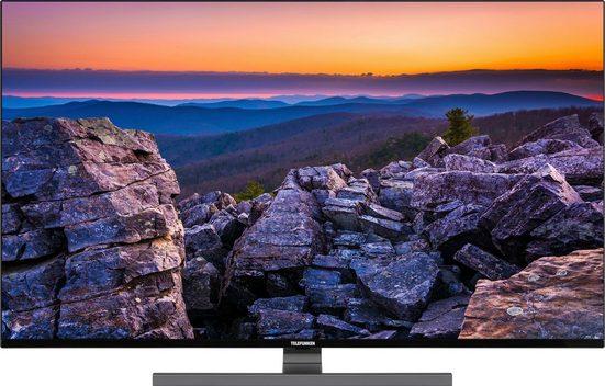 Telefunken D50V900M4CWH LED-Fernseher (126 cm/50 Zoll, 4K Ultra HD, Smart-TV, 9.0, HDR10, Dolby Vision, 36 Monaten Herstellerlangzeitgarantie)