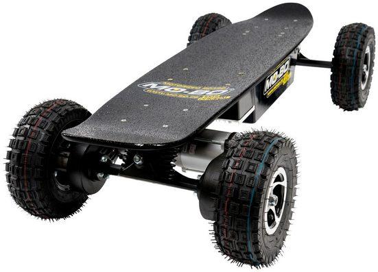 MO-BO Elektroskateboard »Black Line«, 1600 W, 30 km/h, Heckmotor