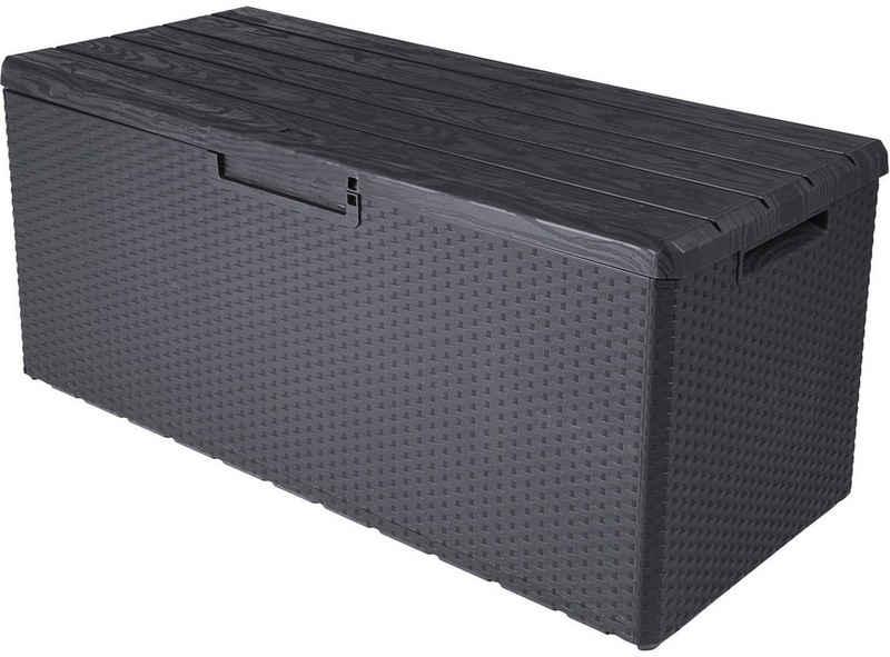 ONDIS24 Kissenbox »Portofino«, Kissenbox mit Sitzfunktion, 350 Liter, UV-beständig