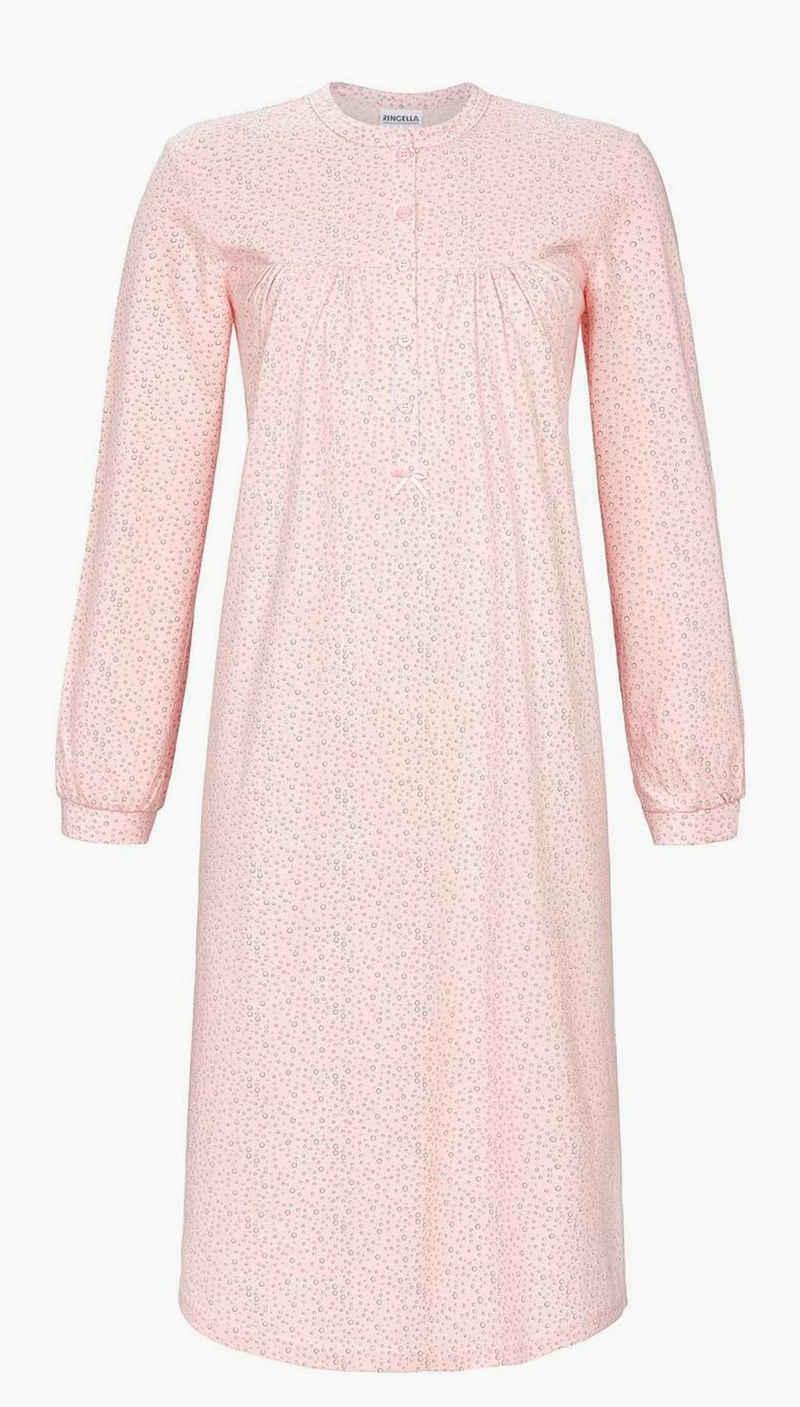 Ringella Nachthemd »Ringella Damen Nachthemd Baumwolle« auch in Großen Größen