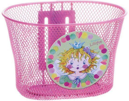 Prinzessin Lillifee Fahrradtasche »Prinzessin Lillifee Fahrradkorb aus Metall, pink«