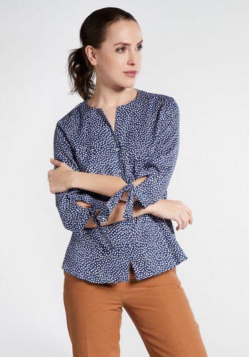 Eterna Satinbluse »MODERN CLASSIC« Dreiviertelarm Bluse