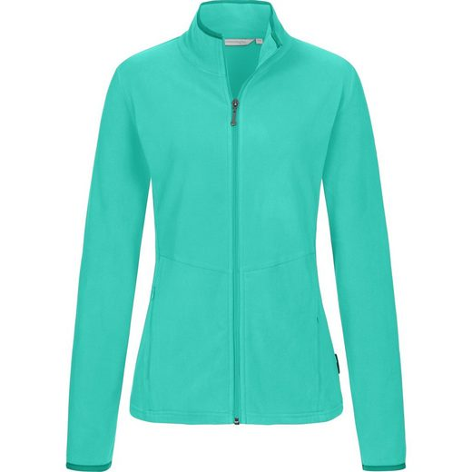 DEPROC Active Fleecejacke »DECORAH WOMEN« weiche Fleecejacke in traditioneller Optik