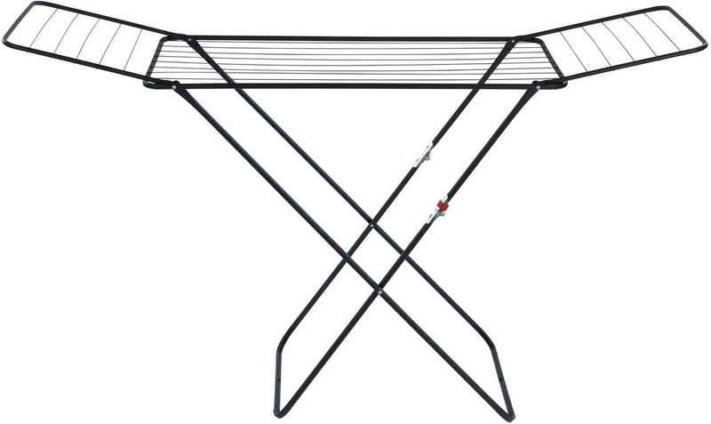 WENKO Flügelwäschetrockner »Champion«, 18 m Trockenlänge, flach klappbar, pulverbeschichteter Stahl