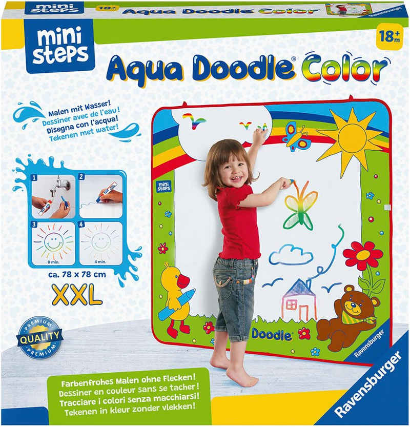 Ravensburger Kreativset »ministeps® Aqua Doodle® XXL Color«, Made in Europe; FSC® - schützt Wald - weltweit