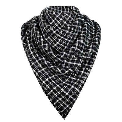 MyBeautyworld24 XXL-Schal »Oversized Damen Herbst/Winter Schal Übergroßer Schal Winterschal in der Farbe schwarz kariert XXL Damen Schal«