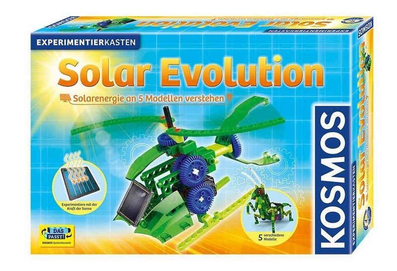 Kosmos Spielzeug-Hubschrauber »Kosmos Solar Evolution Experimentierkasten Roboter Heuschrecke Helikopter«