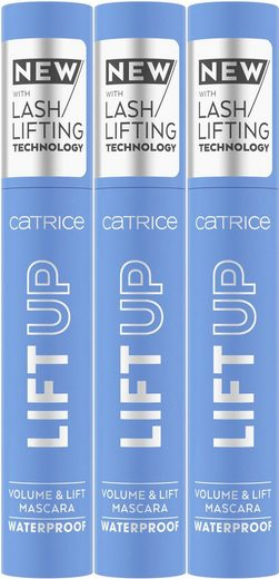Catrice Mascara »LIFT UP Volume & Lift Waterproof«, 3-tlg.