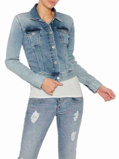 Herrlicher Jeansjacke in lässigem Washed-Look »Joplin«