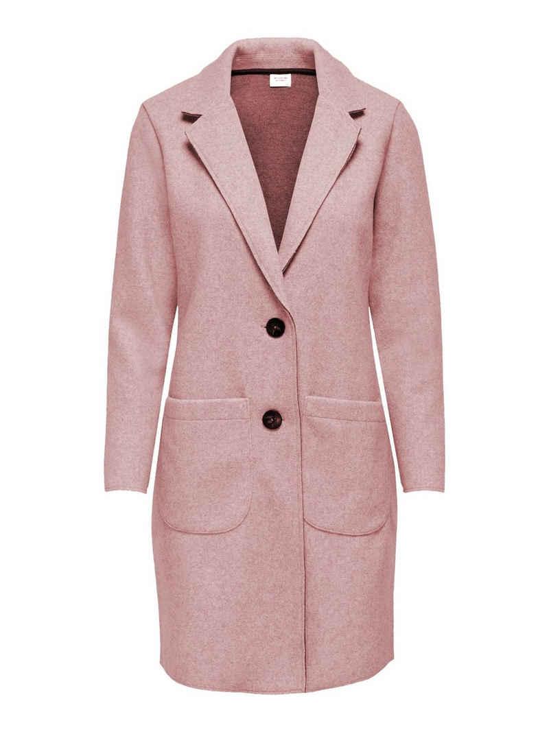 JACQUELINE de YONG Kurzmantel »3749« JDY Damen Lange Fleecejacke Langarm Mantel JDYBONDY Cardigan Taschen