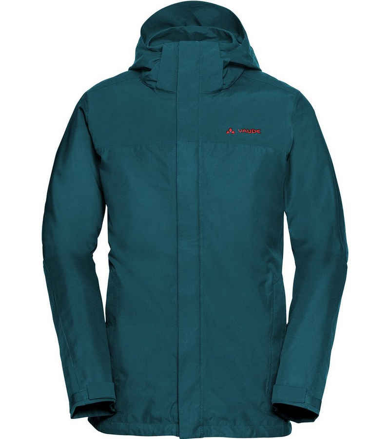 VAUDE Skijacke »VAUDE Escape Pro Jacket II Regen-Jacke komfortable Herren Outdoor-Jacke Kapuzen-Jacke Blau«