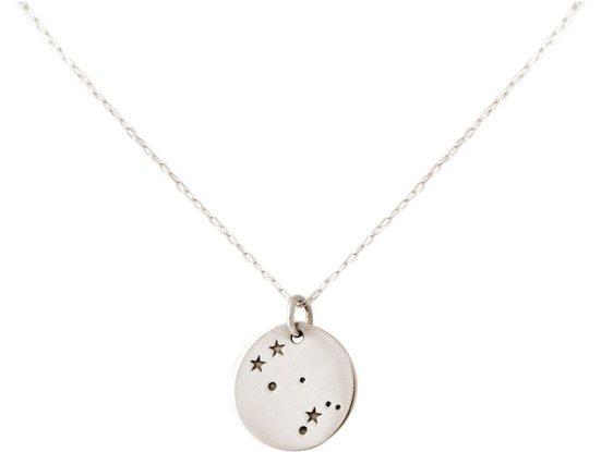 Gemshine Kette mit Anhänger »Horoskop Sternzeichen Gemini Zwillinge«, Made in Spain