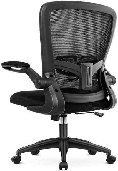*Aiibot Chefsessel »Aiibot Gruppe Aiidoits-Serie XXL-Stuhl B200, B100, Ergonomischer Schreibtischstuhl mit verstellbaren Armlehnen, Höhenverstellbarer Drehstuhl, Computerstuhl mit Einstellbare Lendenstütze und Leise Rollen, Max.Belastbar: 150 kg.«
