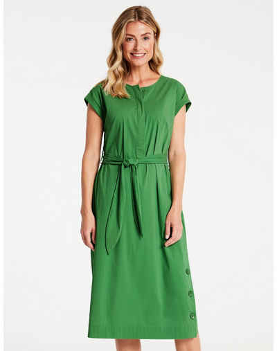 GERRY WEBER Midikleid »Kleid mit breitem Stoffgürtel«