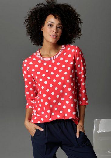 Aniston CASUAL Shirtbluse mit Tupfen bedruckt