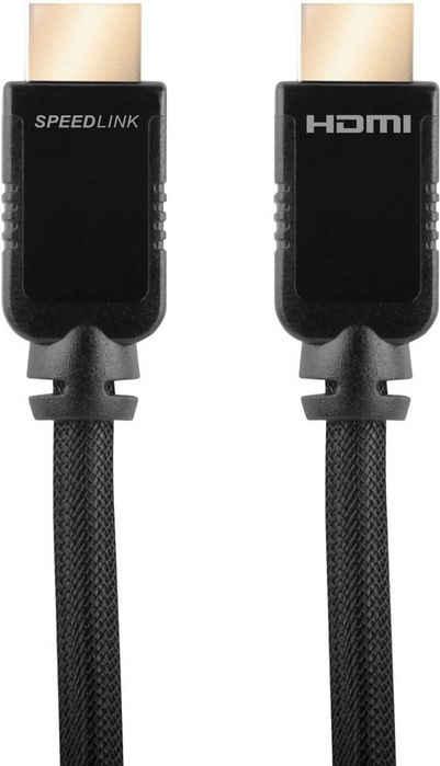 Speedlink »Speedlink SHIELD-3 High Speed HDMI Kabel mit Ethernet Xbox 360 5m« Audio- & Video-Kabel, HDMI, (500 cm)