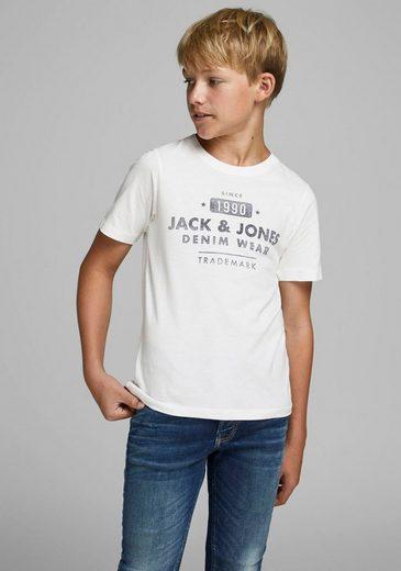 Jack & Jones Junior T-Shirt »JJEJEANS TEE SS CREW NEC«