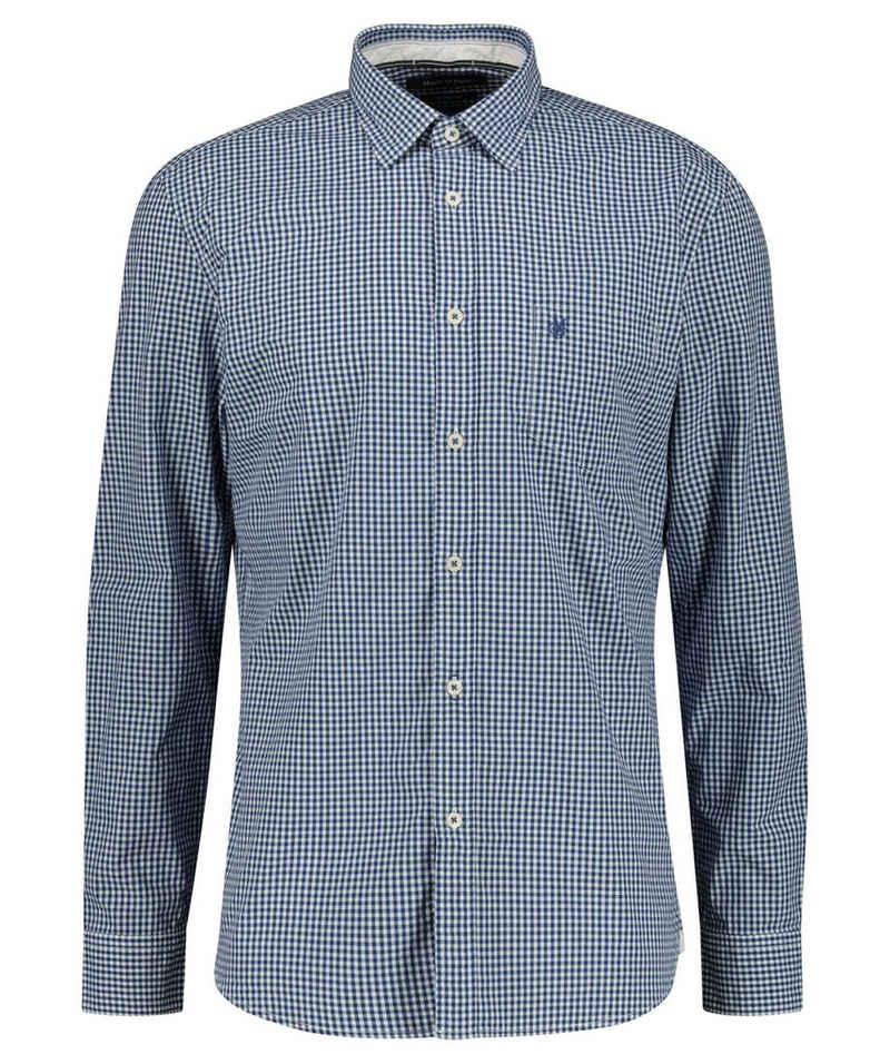 Marc O'Polo Langarmhemd »Herren Freizeithemd Regular Fit Langarm«