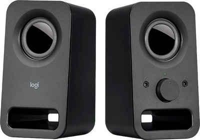 Logitech Z150 Stereo Lautsprecher PC-Lautsprecher (Multifunktionsregeler)