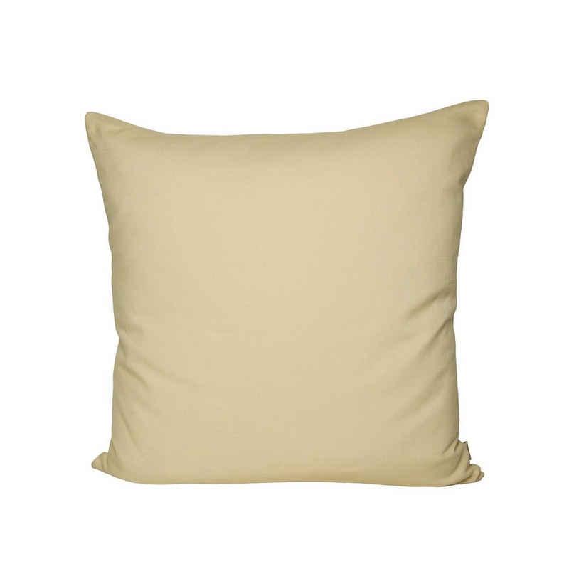Kissenbezug »Farbenspiel«, beties, ca. 40x40 cm Kissenbezug in interessanter Größen- und Farbauswahl 100% Baumwolle für eine fröhlich Stimmung Uni Farbe (Vanille)