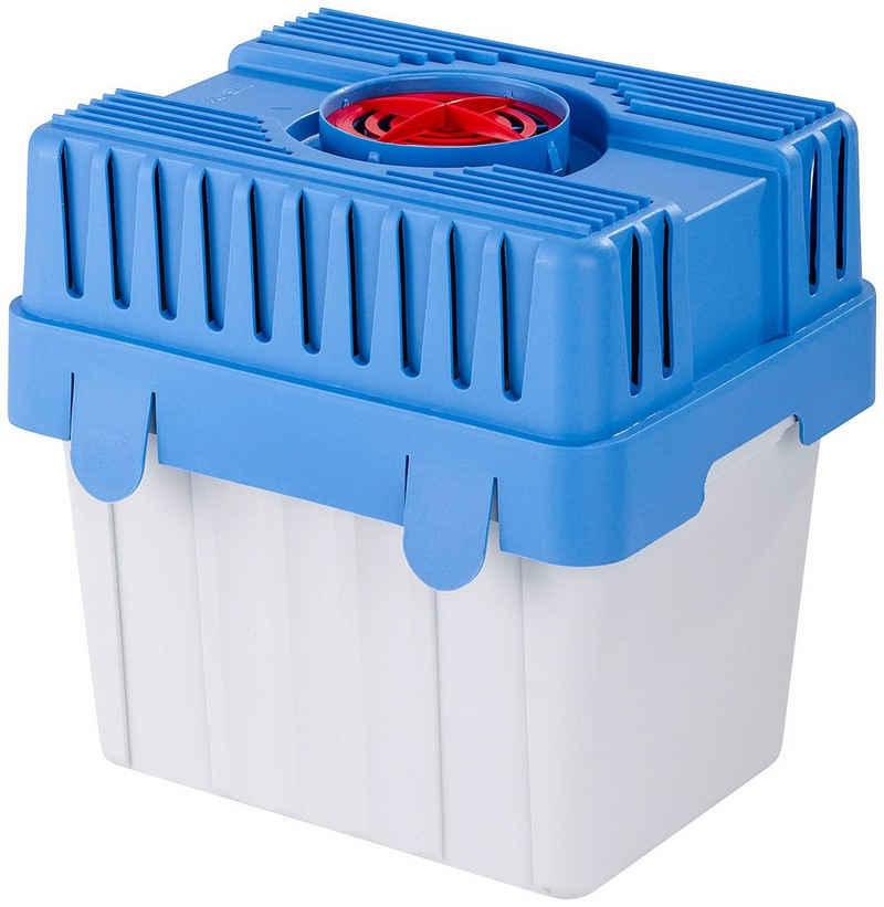 WENKO Luftentfeuchter Feuchtigkeitskiller, für 400 m³ Räume, Tank 8 l, inkl. 5 kg Granulat