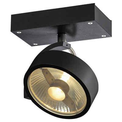 click-licht Deckenspot »Wand- und Deckenspot Kalu, GU10, schwarz, 1-flammi«, Deckenstrahler, Deckenspot, Aufbaustrahler