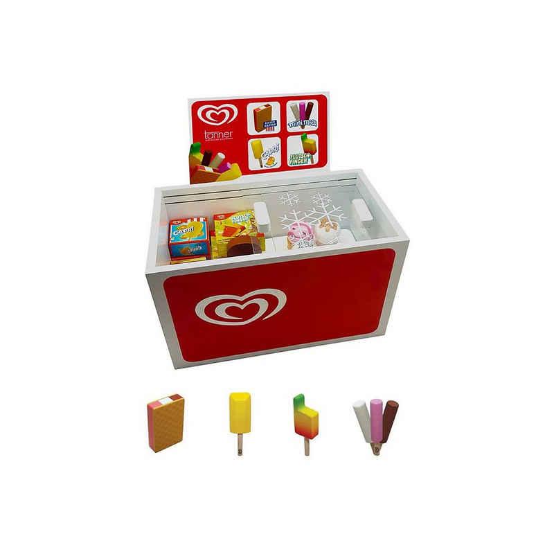 Chr. Tanner Kinder-Küchenset »Langnese Eistruhe aus Holz, gefüllt mit Eiszubehör«