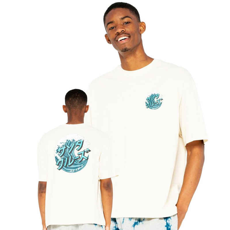Santa Cruz T-Shirt »Japanese Wave Dot - off white«