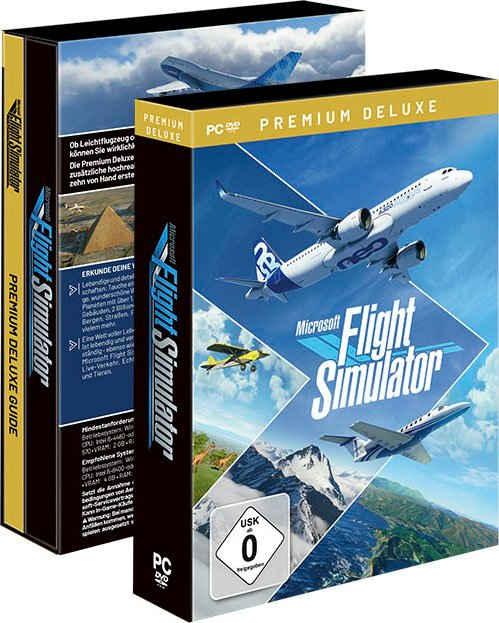Flight Simulator Premium Deluxe Edition PC