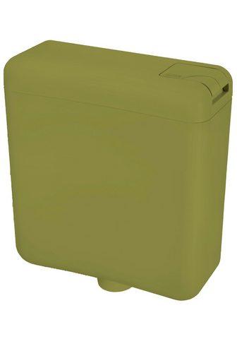 CORNAT Spülkasten »moosgrün« 3-seitige Anschl...