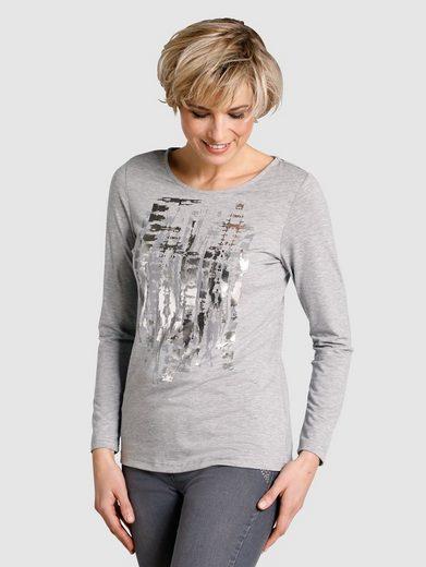 Dress In Shirt mit Druckdessin