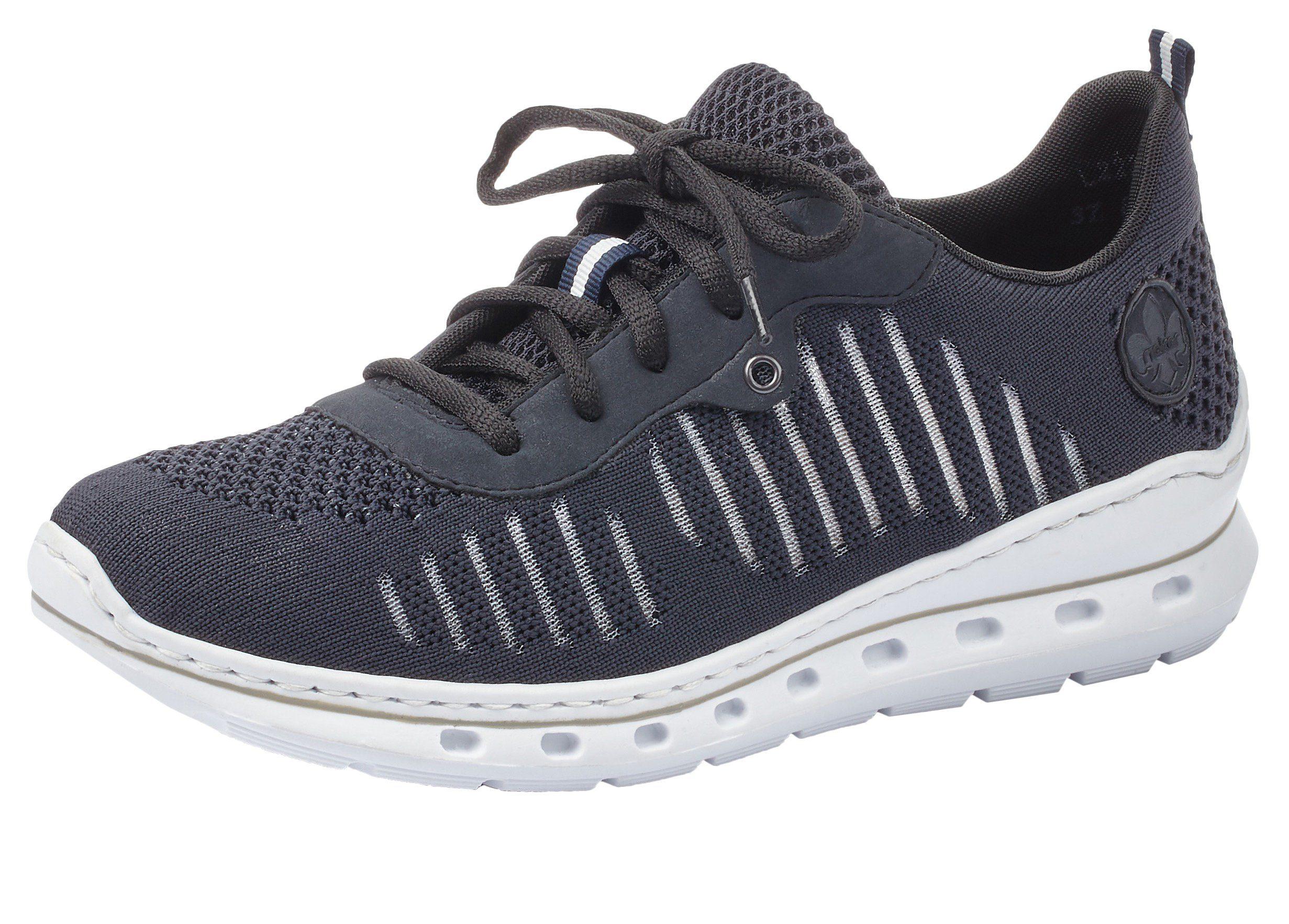 Rieker Sneaker mit MemoSoft Innensohle, Schnürschuh in sportivem Look online kaufen   OTTO