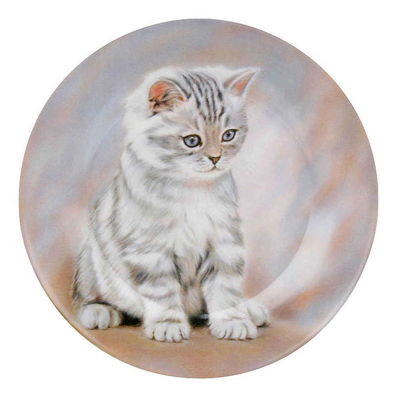 Könitz Frühstücksteller »Getigertes Kätzchen 19cm«