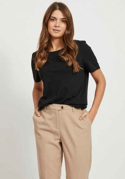 Vila T-Shirt »VISUS« in Baumwolle