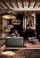 think paper Hängeleuchte »Dandy 290«, schicke Deckenleuchte, Beleuchtung mit Stil, handarbeit, umweltfreundliches Unikat, Deckenlampe, Bild 4